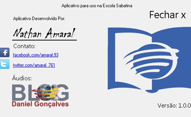 Abertura Escola Sabatina Blog Do Daniel Gonçalves